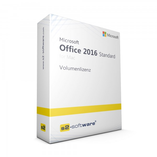 Office 2016 Standard for Mac